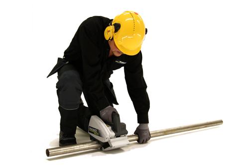 Metal pipe saws